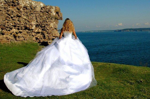 nevěsta u vody