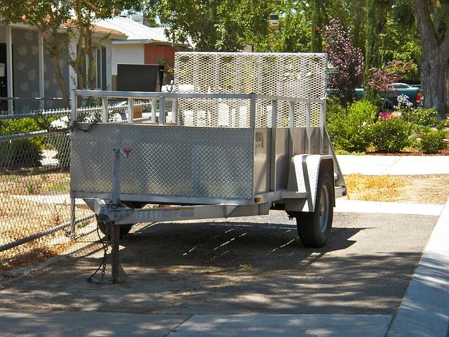 odstavený vozíkodstavený vozík